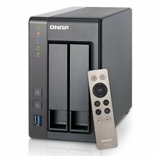 NEW QNAP TS-251+ TS251+ 2-Bay Plus Personal Cloud NAS 2GB 2.0GHz