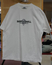 T-Shirt White Ghost in the Shell Stand Alone Complex Laughing Man (new) XL
