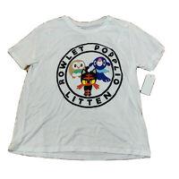 Pokemon Youth Tshirt Size Large White New NWT C114