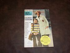 MON TRICOT - CHILDREN'S FASHIONS - VINTAGE - AUTUMN 1971 - USED - NICE