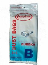3 Eureka B Allergy Canister Vacuum Bags 1700 3700, Powerteam Series Vacuum Cl...