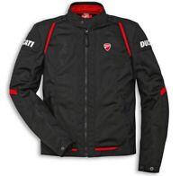 DUCATI SPIDI FLOW C3 Tex Jacke Sommer Textiljacke perf. Jacket schwarz NEU 2020