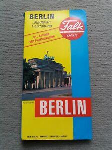 Falk Stadtplan Berlin 61. Ausgabe