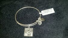 NWT ALEX AND ANI BRACELET  ** HASBRO  ALL FOR ONE **  silver finish RETIRED