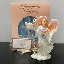 "Seraphim Classics Gina Holiday Light Angel Figurine Limited Edition Mib 8"""