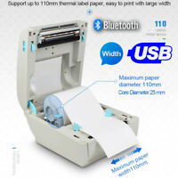 Direct Thermal Printer Label/Reciept/Barcode USB and Bluetooth Mac Windows iOS