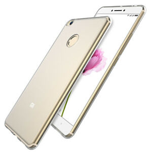 2 x Transparent Clear Silicone Slim Gel Case For Xiaomi Mi Max