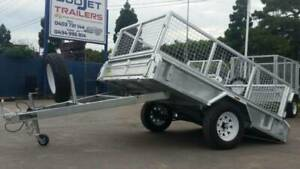 8 x 5 Ft Premium H/Duty Box Trailer 750kg $1950.00 (TRAILER ONLY CAGE IS EXTRA)