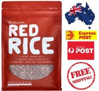 Forbidden Organic Red Rice 1.25KG Health Gluten/Fat Free Protein FREE SHIPPING