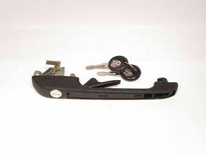 VW Rabbit Scirocco Quantum Jetta & Golf Front Right Outer Door Handle w/ Keys