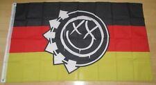 Blink 182 cloth 3ft X 5ft official German Smiley Flag new mark tom travis