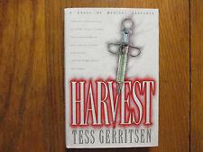 "TESS  GERRITSEN  Signed  Book (""HARVEST""-1996  First  Edition  Hardback)"