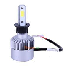 2x 200W 20000LM H3 S2 Car COB LED Headlight HI-LO Single Beam Bulb Light Kit