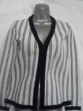 VINTAGE 1960s/70s STRIPED CARDIGAN - MOD / SCOOTER