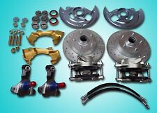 1967 1968 1969 camaro front disc brake conversion stock ride height d&s rotor
