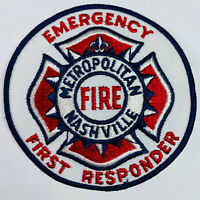 Nashville Metropolitan Fire Emergency First Responder Tennessee Patch (C5-C)