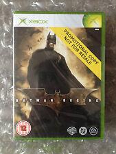 Nuevo Sellado De Fábrica Batman Inicia Promo (juego Completo) Para Xbox Original