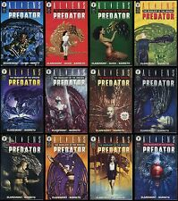 Aliens v Predator Deadliest Species Comic set 1-2-3-4-5-6-7-8-9-10-11-12 lot AvP