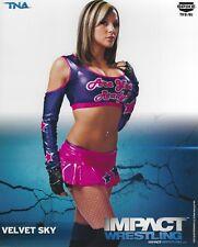 Velvet Sky Official 2013 TNA Promo 8x10 Photo Picture Impact Pro Wrestling Diva