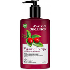 Avalon Organics Wrinkle Therapy with CoQ10 Facial Cleansing Milk 251ml