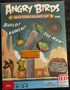 Angry Birds Western Round-Up Game Brand New