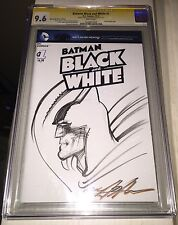 BATMAN #1 BlANK SKETCH COVER ORIGINAL ART SKETCH BY NEAL ADAMS CGC/9.6/SS