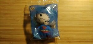 2021 McDonald's DC Plush Heroes Superman SEALED IN PACK English/French Packaging