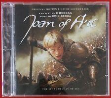 JOAN OF ARC ORIGINAL SOUNDTRACK OST CD LUC BESSON ERIC SERRA