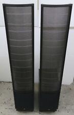 Martin Logan Electromotion ESL Speakers - Black with boxes/packaging etc.