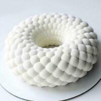 3D Cakes Mold Tray Baking Mousse Decor Tools Desserts Bakewa Silicone Mould H0R0