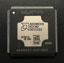 AMD AM486DX5-133V16BHC CPU Am5x86-P75 32bit Processor 80486 QFP208 133MHz NOS