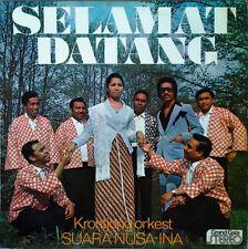 SELAMAT DATANG - SUARA NUSA-INA - GRAND GALA - STEREO LP - NETHERLANDS