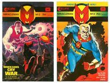 Vintage Miracleman #2 & #3 ~ Alan Moore! Alan Davis! Gary Leach! Howard Chaykin!