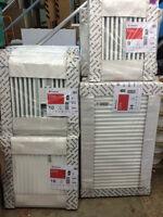Stelrad Central Heating Radiator Double or Single Panel K1 / P+ / K2