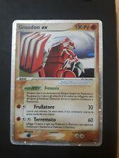 Pokemon Groudon EX - Ex Smeraldo 038 Black Star Promo ITA Excellent / Near Mint