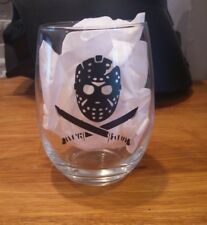 friday the 13th Jason Voorhees wine glass