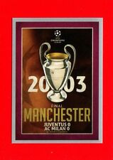 CHAMPIONS LEAGUE 2015-16 -Topps Figurine-stickers n. 595 - MANCHESTER 2003 -New