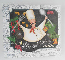 "Lang ""Let's Get Cooking"" Chef Recipe Binder / Album   **FREE SHIPPING**  NEW"