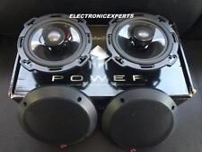 """ROCKFORD FOSGATE POWER T165 6.5"""" 2 Way HARLEY Speakers Aluminum Dome Tweeters"""