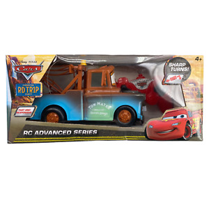 🚨Disney Pixar - Cars Tow Mater Remote Control Truck Toy - RC Advanced Series 🚨