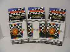 NASCAR Winston Cup Wallpaper Border 3 Rolls 15 Yds Total Checkered Flag  NEW NIP