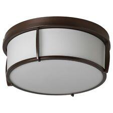 "IKEA KATTARP Ceiling lamp, glass bronze color 13"" BRAND NEW-"