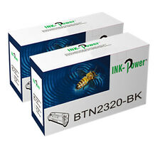2 Toner Cartridge For Brother TN2320 DCP-L2560DW MFC-L2700DW MFC-L2720DW