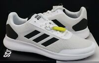 Adidas Mens Running Trainer Shoes White Black Cloudfoam