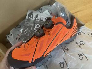 Pearl Izumi mountain Pro bike shoes. Orange Black. Sz 6.5 NIB