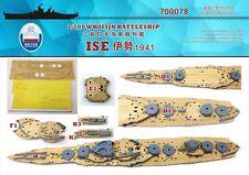 Shipyard 700078 1/700 Wood Deck IJN Ise 1941 for Fujimi