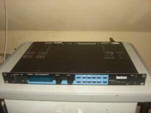 Lexicon PCM 90 PCM90 PCM-90 Digital Effects Processor OS 1.01