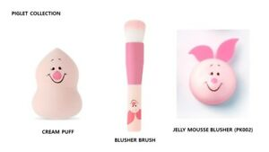 [ETUDE HOUSE X DISNEY] PIGLET COLLECTION / CREAM PUFF+BRUSH+BLUSHER 3pcs SET