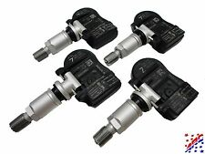 Complete Set of 4 Factory OEM Nissan TPMS Tire Pressure Sensors & Service Kits Z