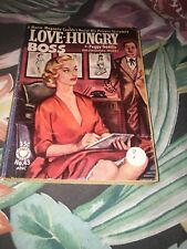 Peggy Gaddis / Love Hungry Boss First Edition 1953